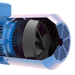 motor electric trifazat standard - cu o singura putere si turatie