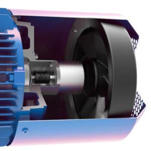 motor electric cu encoder incremental