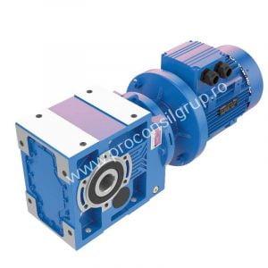 Motoreductor conico-cilindric cu flansa IEC B5, B14 - Proconsil Grup Iasi (2)