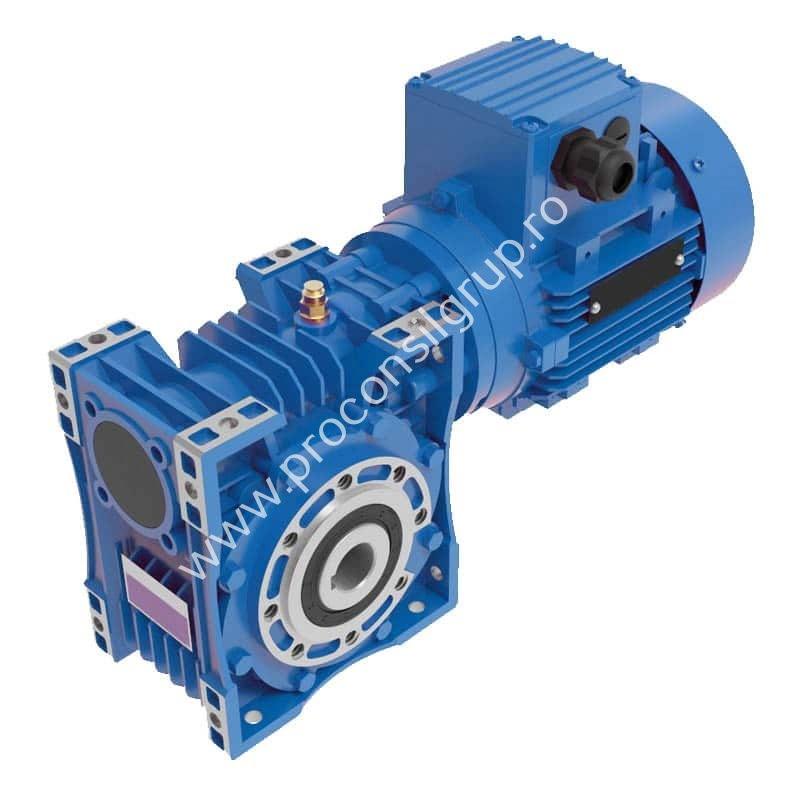 Motoreductor melcat cu flansa IEC B5, B14 - Proconsil Grup Iasi