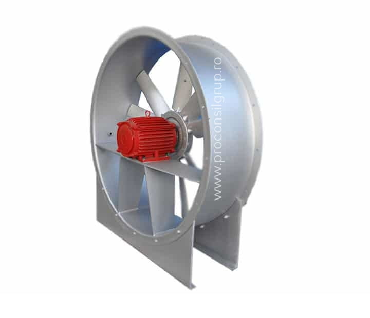 Ventilatoare industriale axiale - Proconsil Grup Iasi