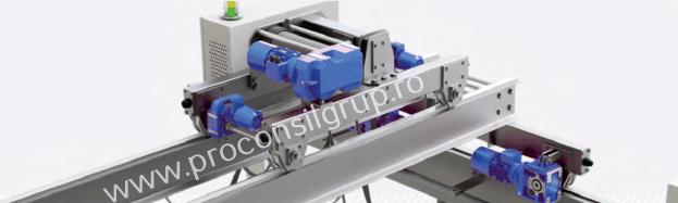 Motoreductoare cu axe paralele pentru instalații de ridicat - Proconsil Grup Iasi