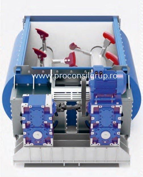 Reductoare cu axe paralele pentru mixere de beton Proconsil Grup Iasi