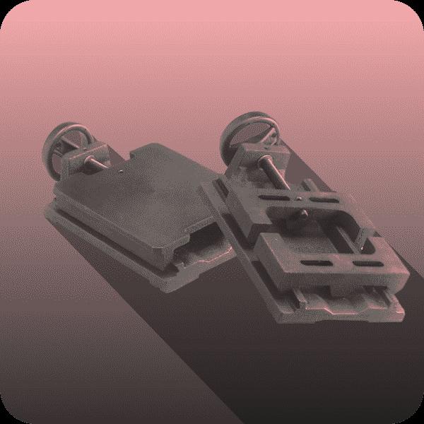 Alunecare motor în fontă turnată - Proconsil Grup Iasi