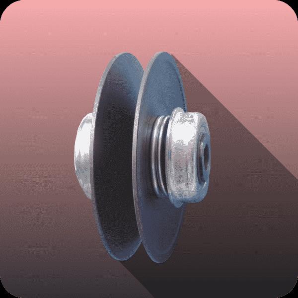 Model cu butuc rotund și arcuri - Proconsil Grup Iasi