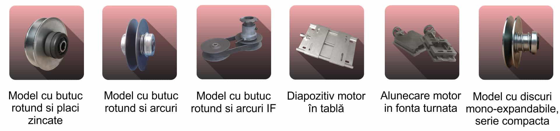 Scripete variabile și diapozitive motoare - Proconsil Grup Iasi