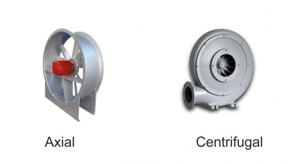 Proconsil Grup - proconsilgrup.ro - Ventilatoare si suflante industriale - Comparare ventilatoare axiale si ventilatoare centrifuge