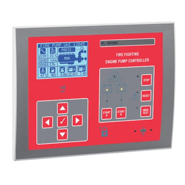 Controler pentru pompa incendiu diesel