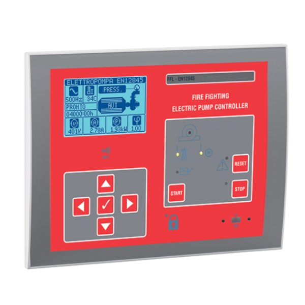 Controler pentru pompa incendiu electrica